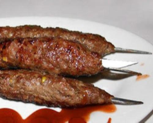 كباب لحم حسب الرغبة